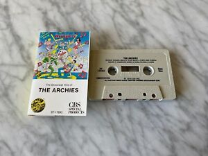 The Archies The Grooviest Hits CASSETTE Tape 1979 CBS BT-17893 Sugar Sugar RARE!