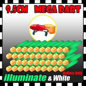Bulk-Lot-illuminate-Refill-Foam-Bullet-Darts-9-5cm-For-Nerf-Elite-Mega-Centurion
