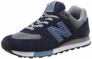 New-Balance-574v2-Sneaker-Uomo-ML574FND-NAVY-G-SCARPA