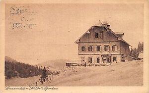 Ak Sonnwendstein Friedrich Schüler Alpenhaus Restauration Johann Hartberger 1930 Mit Den Modernsten GeräTen Und Techniken Ansichtskarten