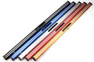 Weichster-New-1Piece-Aluminum-Snooker-Pool-Cue-Case-60-034-with-Locks-Chalk-Space