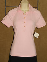 Bobby Jones - Clover - Pink - Stretchy & Stylish - Polo Golf Shirt Sz S Tag