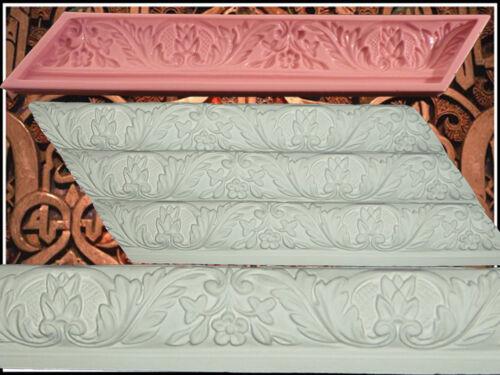 57 Stucco profili GOMMA negativo forma stampo gesso in rilievo Decorazione Soffitto