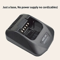 Only Base No Power Supply For Kenwood Tk-2170 Portable Radio Battery Charger