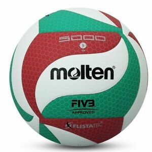 Molten-Volleyball-Genuine-VSM5000-Ball-Size-5-Soft-Touch-PU-Leather-Sport-Games