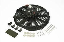 "14"" 160W Electric Fan 12v Straight Blade Stoney Racing Slim Radiator Cooling"