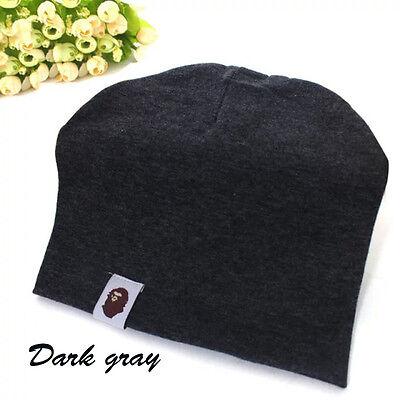 Unisex Cotton Beanie Hat For New Born Baby Boy Girl Soft Toddler Cap Kid Warm