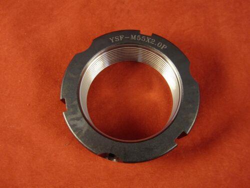 Turning- Red Yinsh Precision Bearing Locknut YSF-M55x2.0P