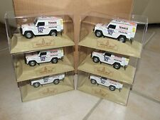 LOT DE 6 MERCEDES 280 GE ICKX PARIS DAKAR 1983 NOREV 1:43