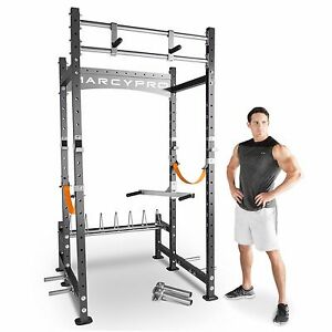 Marcy Pro Crossfit Mwm 8070 Power Cage Rack With Pull Up