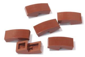 a9 8 x Schrägstein gerundet 2x1 orange LEGO Dachstein gebogen 11477 NEUWARE