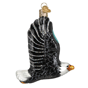 034-Eagle-in-Flight-034-16122-X-Old-World-Christmas-Glass-Ornament-w-OWC-Box