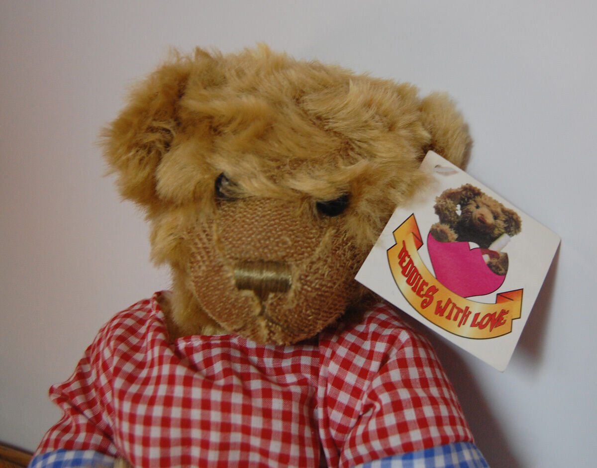 UK Metro 9th Limited Ed. Benjamin Teddy Bear 441/5000  441/5000 Bear Teddies with Love 2003 e40628