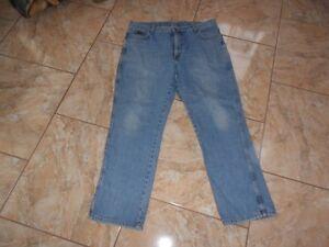 J1878 Gut W38 Texas Wrangler Hellblau Jeans L30 UnUvcOW