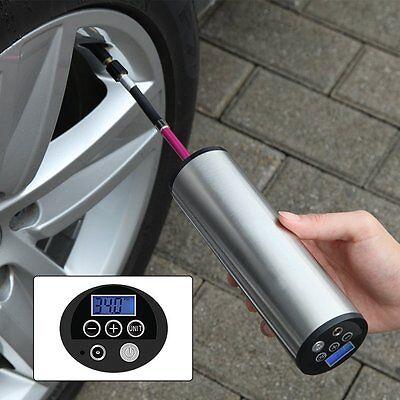 Mini Auto Luftpumpe Elektrischer Luftverdichter für Fahrrad Ball Ballon 150 PSI