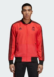 Détails sur Adidas Real Eu Presentation Blouson Blouson Officiel Real Madrid 201819 DP7661