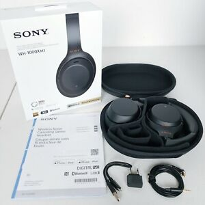 Sony-WH-1000XM3-Wireless-Noise-Cancelling-Stereo-Headphones-Black
