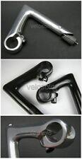 """NOS KL QUILL STEM 25.4 black polished silver 60 80 100 fixed for 1"""" steerer fork"""