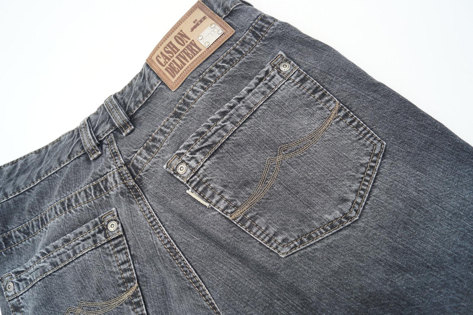 Cash on Delivery JOKER Herren Hose Jeans 32 32 W32 L32 stone wash grau TOP  96  | Sofortige Lieferung