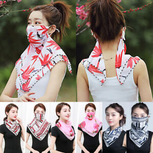Women-Chiffon-UV-Sun-Protection-Face-Mouth-Mask-Outdoor-Riding-Neck-Cover-Scarf