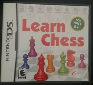 Learn-Chess-Nintendo-DS-Complete-CIB-Tested-Very-Rare