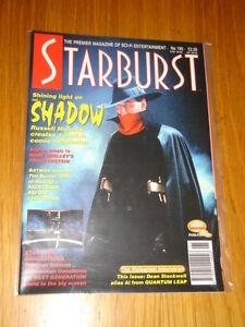 STARBURST-195-BRITISH-SCI-FI-MONTHLY-MAGAZINE-NOVEMBER-1994-SHADOW