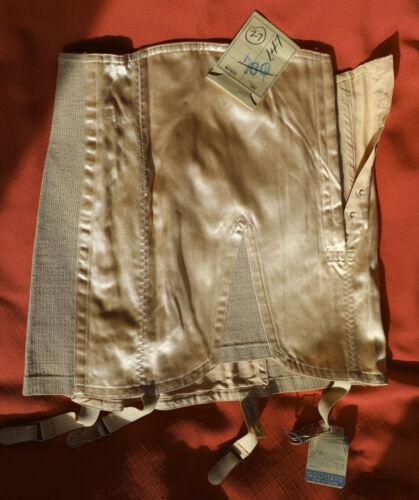 Excellent 1940s Gossard deb Girdle 27 inch w satin