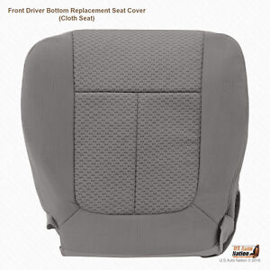 Remarkable Details About Fits 2009 2010 Ford F150 Fx4 Fx2 Driver Bottom Cloth Seat Replacement Cover Gray Gmtry Best Dining Table And Chair Ideas Images Gmtryco