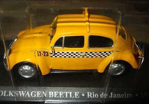 VOLKSWAGEN BEETRE RIO DE JANEIRO 1985-1:43 TAXI