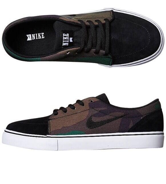 Zapato de lona negro Nike sátira - multi - color negro lona - blanco 581c83