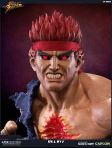 Street-Fighter-Evil-Ryu-1-4-Scale-statue-Pop-Culture-Shock-Collectibles
