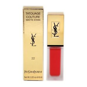 Yves Saint Laurent Tatouage Couture Matte Stain 6ml 22