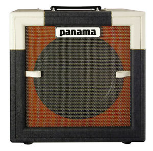 panama conqueror 5 watt hand wired tube guitar 1x12 combo amp white black ebay. Black Bedroom Furniture Sets. Home Design Ideas