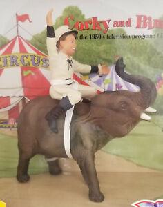 Breyer-Corky-amp-Bimbo-Circus-Elephant-with-Boy-Not-Model-Horse-NIB