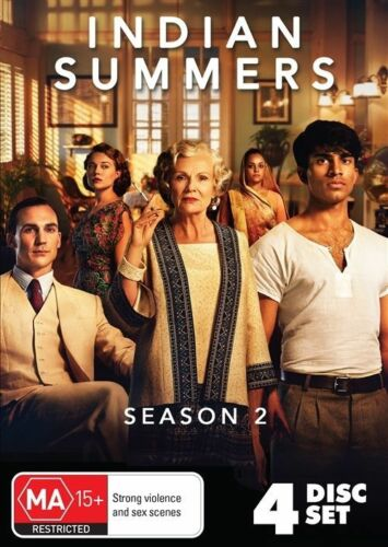1 of 1 - NEW & SEALED Indian Summers : Second Season/ Series 2 (DVD, 4-Disc Set) R4
