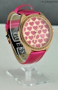 fd3373223 New Trend Limited Collections GuEsS Watch Ladies Pink Leather Women ...