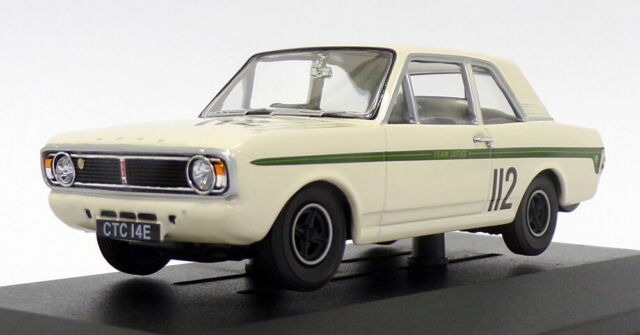 Vanguards 1/43 Scale VA04118 - Ford Lotus Cortina FVA - #112 G.Hill 1967