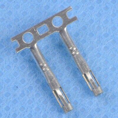 100pcs 2.54mm Female Pin Long Dupont Head Reed Female Head