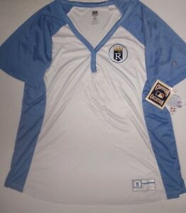 KANSAS CITY ROYALS WOMANS THROWBACK JERSEY FASHION DRI FIT SHIRT NEW ... 21bdc60d1