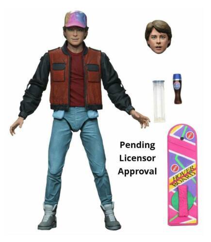 PREORDER DEPOSIT Back to the Future Part II Action Figure Ultimate Marty McFly