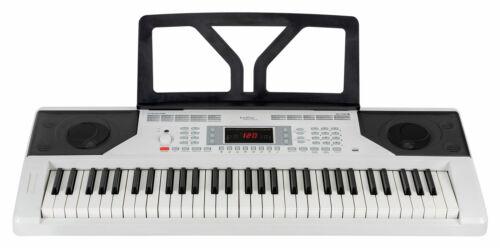 Zeitloses Keyboard mit Anschlagdynamik und toller Einsteiger Lernfunktion weiß