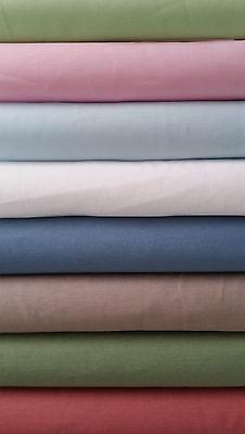 Mathildas Welt 100% Baumwolle Popeline, Unistoff, TOP Qualität, 142cm, v. Farben