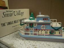 DEPARTMENT 56- RETIRED- 51144 JINGLE BELLE HOUSEBOAT- IN BOX -LS2