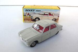 Dinky Toys Peugeot 204 Ref 510 Très Bon État Boite D'origine 1965