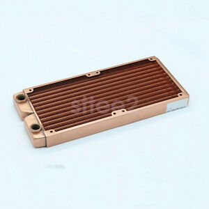 Water-Cooling-Radiator-240mm-Whole-pure-Copper-G1-4-for-PC-Linquid-Water-Cooling