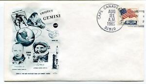 1965 Project Gemini Titan-5 Charles Conrad Gordon Cooper Cape Kennedy
