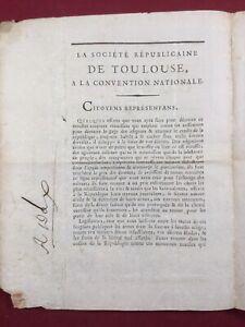 Toulouse-en-1793-Societe-republicaine-Dax-Societe-Populaire-Assignat-Revolution