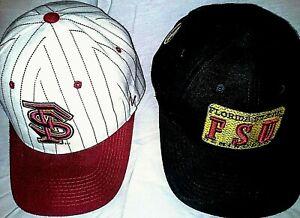 FLORIDA-STATE-FSU-Seminoles-NCAA-VINTAGE-Cap-Hat-2-Varieties-Snapback-Fit-NWOT