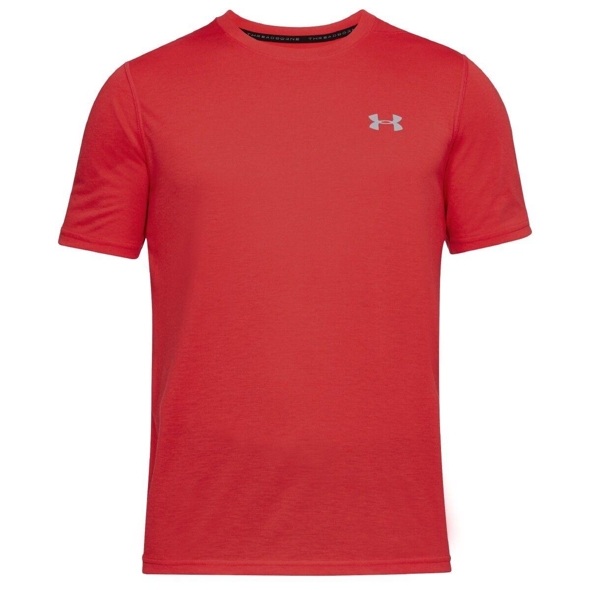 Under Under Under Armour threadborne SU MISURA maniche corte t-shirt maglietta Pierce 784d49