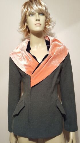 Grøn Sz Tokyo Maruyama Jakke M Frakke Krave Uld Velvet Paris Keita q5ngt7C0ww